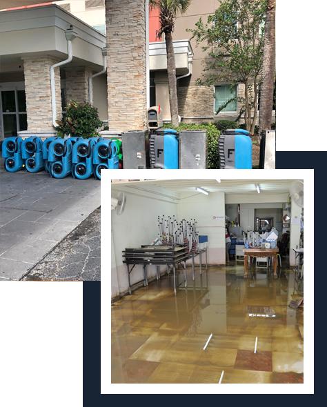 Water & Flood damage restoration service